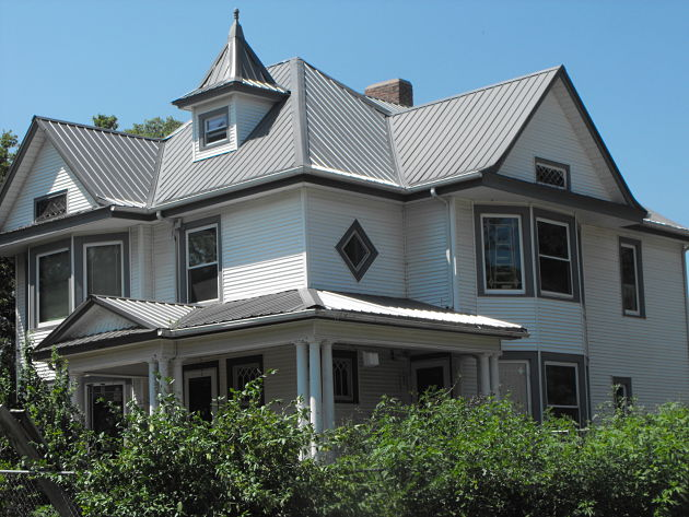 Historic Home Renovation Restoration Steel Roofing Front